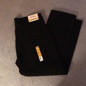 Men's black jeans